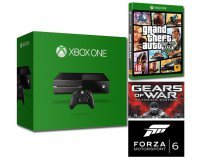 Amazon: Pack Xbox One 500 Go + 3 jeux (GTA V, Gears of War & Forza 6) pour 299€