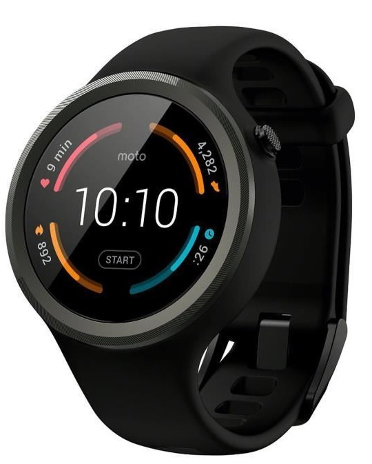 Code promo Amazon : Montre connectée Motorola Moto 360 (2nd gen.) à 129€