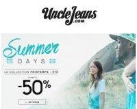 Uncle Jeans: Jusqu'à -50% sur la collection Printemps-Été femme et homme