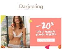 Darjeeling: -20% sur le Blanc dès 2 pièces achetées