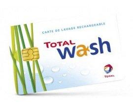 Vente Privée: Payez 20€ votre carte de lavage rechargeable Total Wash de 40€