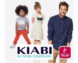 Kiabi: Livraison offerte en point relais dès 15€ d'achat