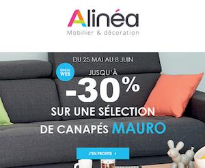 Jusquà 30 Sur Une Sélection De Canapés Mauro At Alinéa