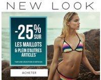 New Look: -25% sur une sélection de robes, de maillots de bain et d'autres articles
