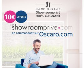 Oscaro: 10€ offerts sur Showroomprivé en commandant sur Oscaro