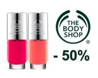 The Body Shop: 50% de réduction sur les vernis