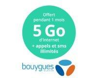 Bouygues Telecom: [Clients Bouygues] 5Go de roaming en Europe + appels & SMS illimités pour 1 mois