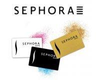 Sephora: [Carte Sephora] Avantages exclusifs avec la carte de fidélité White, Black, Gold
