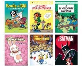 Fnac: Opération BD 2016 : 31 bandes dessinées à 3,90€ (Garfield, Boule et Bill, ...)