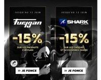 Motoblouz: Les équipements de moto des marques Furygan et Shark à -15%