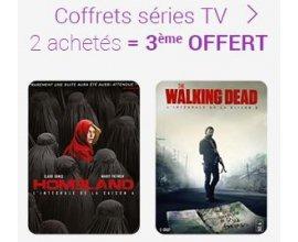 Fnac: 2 coffrets séries TV achetés = le 3ème offert