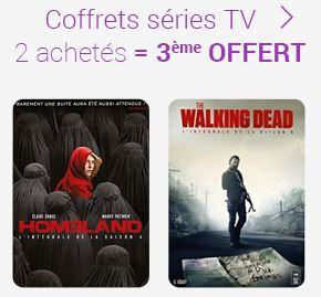 Code promo Fnac : 2 coffrets séries TV achetés = le 3ème offert