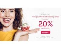 Bonprix: Journées shopping : 20% de réduction minimum sur une sélection d'articles