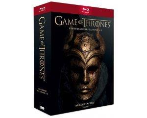 Fnac: Game of Thrones - L'intégrale des saisons 1 à 5 en Blu-ray à 33,99€