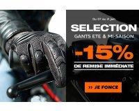 Motoblouz: Une sélection de gants d'été et de mi-saison à -15%