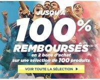 Cdiscount: Jusqu'à 100% remboursés en 2 bons d'achat sur une sélection de 100 produits