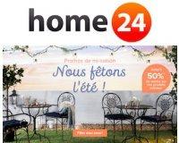 Home24: Jusqu'à -50% sur une sélection d'articles pour la maison