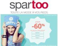 Spartoo: Jusqu'à -60% sur une sélection d'articles femme, homme et enfant