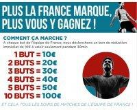 Cdiscount: - 50€ dès 300€ | 10€ de remise pour chaque but marqué par l'équipe de France