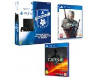 Cdiscount: PS4 1 To + 2e manette DualShock 4 Noire + The Witcher 3 + Project Cars à 399,99€