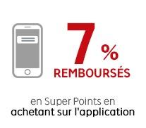 Code promo Rakuten : 7% de vos achats remboursés en achetant via les applications Mobiles & iPad