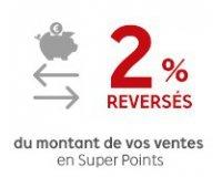 PriceMinister: Bonus vendeur : récupérez 2% du montant de vos ventes en super points