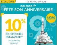 Norauto: 10% de remise dès 80€ d'achats