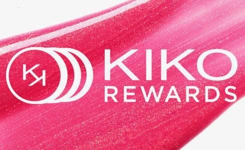 Code promo Kiko : - 10% sur votre première commande avec la carte de fidélité Kiko Rewards