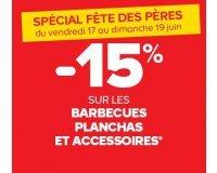 Castorama: 15% de réduction sur les barbecues, planchas et accessoires