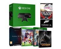 Amazon: Xbox One 500Go + The Division + Fifa 16 + Halo 5 + 3 jeux dématérialisés à 299€