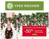 Yves Rocher: -50% sur plus de 200 produits