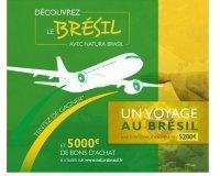 Natura Brasil: 1 voyage au bresil et des bons d'achats à gagner