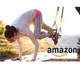 Amazon: Sangle de suspension pour exercice de fitness et musculation à 27,99 €