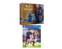 Amazon: Pack PS4 1 To + Uncharted 4: A Thief's End - édition limitée + Fifa 16 à 399€