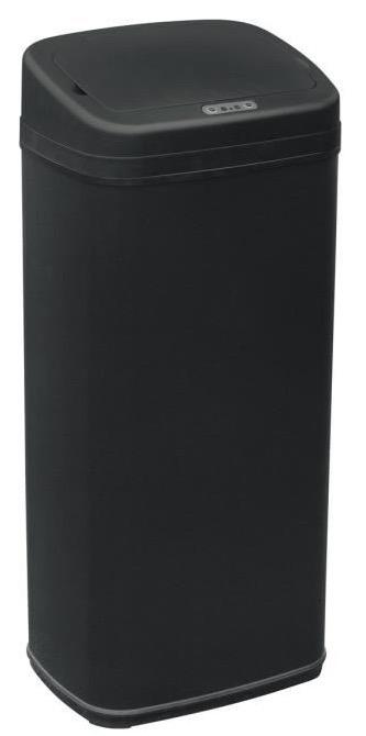 poubelle automatique hailo sensor carr e 50l noir 29 90 au lieu de 89 90 cdiscount. Black Bedroom Furniture Sets. Home Design Ideas