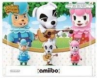 Amazon: Pack de 3 Amiibos 'Animal Crossing' - Kéké + Risette + Serge à 10,86€