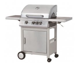 Cdiscount: Barbecue DURBAN inox 3 feux et side burner à 220,88€