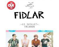OÜI FM: Des invitations pour le concert de Fidlar le 13 juillet à Paris à gagner