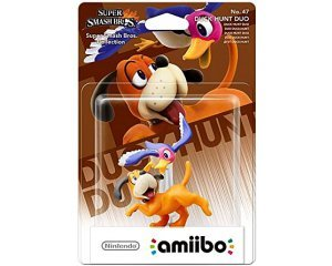 Amazon: Jeu Wii U et Nintendo 3DS Amiibo 'Super Smash Bros' Duo Duck Hunt à 9€49