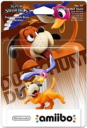 Code promo Amazon : Jeu Wii U et Nintendo 3DS Amiibo 'Super Smash Bros' Duo Duck Hunt à 9€49