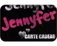 Jennyfer: Jusqu'à 4% de remise sur les cartes cadeaux Jennyfer