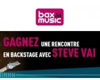 Bax-shop: Rencontrez le guitariste Steve Vai à l'occasion d'un concert aux Pays-Bas