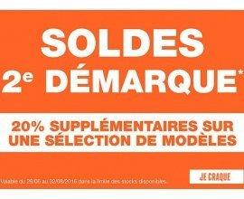 Courir: 2ème démarque : 20% de remise supplémentaire sur une sélection de modèles soldés
