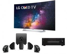 "Webdistrib: TV  LG 55"" OLED incurvée +  Pack enceintes FOCAL 5.1 + Ampli ONKYO à 1999€"