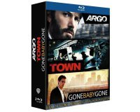 Amazon: Coffret Blu-ray Argo + The Town + Gone Baby Gone [Édition Limitée] à 8,72€