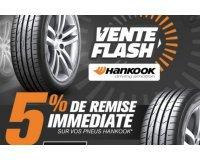 Allopneus: Vente Flash : 5% de réduction sur tous les pneus de la marque HANKOOK