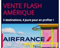 Air France: Promo vers les USA - Ex : Vols Los Angeles et San Francisco dès 599€ A/R