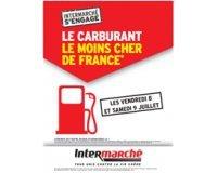 Intermarché: Carburant le moins cher de France le 8 et 9 juillet