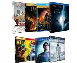 Cdiscount: Lot de 8 films (Mad Max, Interstellar, Gravity,..)  à 22,90€ au lieu de 175,40€