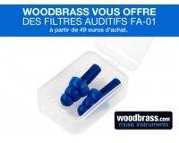 Woodbrass: Une paire de bouchons d'oreille offerte pour toute commande dépassant 49€